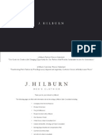 J Hilburn Business Opportunity July 2012