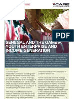 Y Care International - Senegal and the Gambia Youth Enterprise and Income Generat