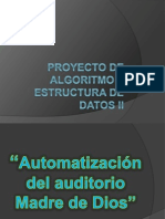 Proyecto de Algoritmo y Estructura de Datos II