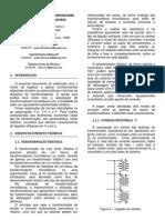Relatório 5 - Transformadores