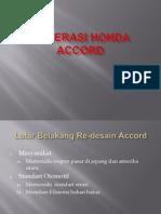 Generasi Honda Accord