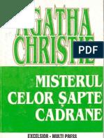 75160329 Agatha Christie Misterul Celor Sapte Cadrane