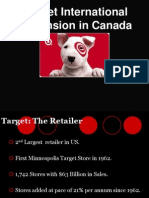 Presentation on Target Expansion in Canada