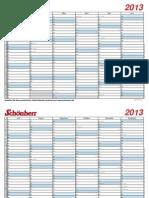 Toller Kalender für 2013