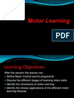 Motor Learning Sy 2011