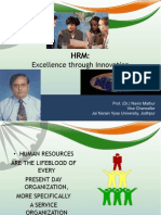 HRM in Tourism