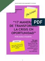 17 Maneras de Transformar La Crisis en Oportunidad