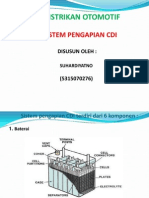 45908613 Sistem Pengapian CDI Terdiri Dari 6 Komponen