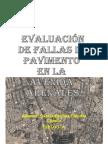 Evaluación de Fallas de Pavimento