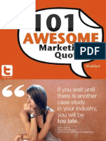 101 marketing quotes
