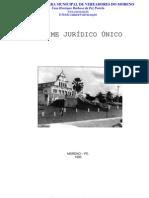 REGIME JURÍDICO ÚNICO DOS SERVIDORES PÚBLICOS DO MUNICÍPIO DE MORENO