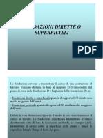 VIII Lezione Fondazioni Superficiali
