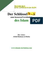 Der Schlüssel zum besseren Verständnis des Islam