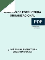 Analisis estructura Organizacional