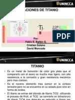 Aleaciones de Titanio