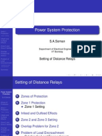 distance relay in power systems