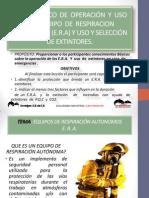 CURSO  BÁSICO  DE  OPERACIÓN  Y  USO  DEL  EQUIPO AUTONOMO
