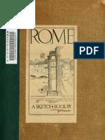 Rome Sketch Book