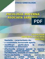 Patologia Asociata Sarcinii