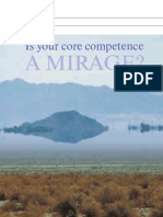 Is Your Core Competence a Mirage