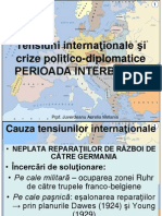 Tensiuni Internationale Si Crize Politicodiplomatice
