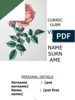 curriculam