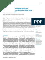 Predicción del deterioro cognitivo en ancianos mediante el análisis del rendimiento en fluidez verbal y en atención sostenida