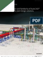 Autodesk Plant Design Suite 2012 Brochure Letter