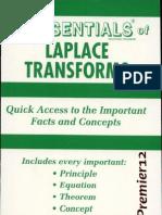 The Essentials of Laplace Transforms