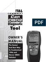Digital Can OBD2 Diagnostic Tool 3100 Manual