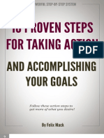 10 Proven Steps for Taking Action
