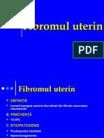 Fibromul uterin.Endometrioza