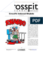 Rhabdo Crossfit Journal