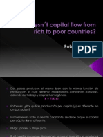 Why doesn´t capital flow from rich to poor countries