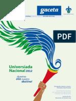 Gaceta Universiada 2012