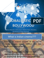 Gloabalization of Bollywood