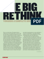 The Big Rethink - Towards a complete architecture