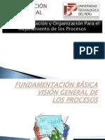 Preparación y Organización Para el Mejoramiento de los Procesos