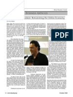 The Price of Freedom - Music Business Journal (Gerd Leonhard)