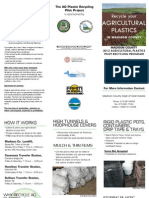 The AG Plastic Recylcing Pilot Project