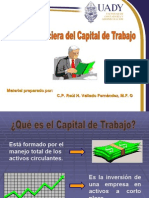 gestion financiera capital det rabajo