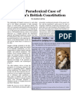 The Paradoxical Case of Canada's British Constitution