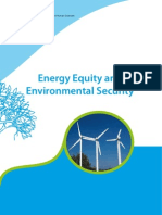 Energy Equity and Environmental Security UNESCO11