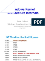 WIndows Kernal Internals