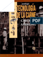 "TECNOLOGIA DE LA CARNE ""REPORTANDOME DE HUANUCO-PERU"""