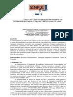 Recursos organizacionais de instituições financeiras