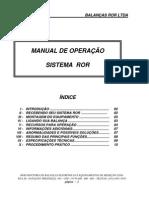MANUAL DE OPERAÇÃO ROR