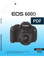 Manuale CANON EOS 600D