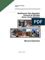 plan regulador sector centro civico stgo
