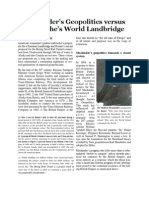 Mackinder's Geopolitics vs. LaRouche's Landbridge